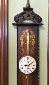 vintage linden anno 1750 wall clock for