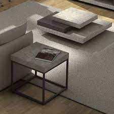petra coffee table and side table