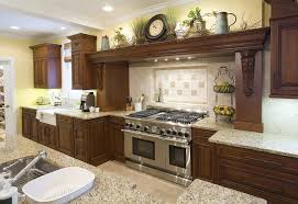 decorating above kitchen cabinets with baskets kitchen