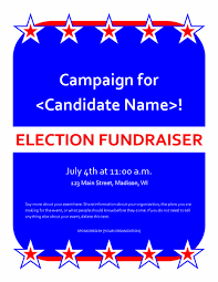 Fundraiser Wording For Flyer Political Fundraiser Event Flyer Templates Fice Benefit Flyer