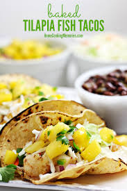 this baked tilapia fish tacos recipe is a healthy and easy dinner that will take 30