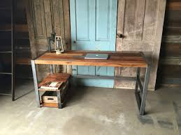 view in gallery reclaimed barn wood patchwork desk