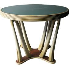 coffee table with glass top vintage designer furniture