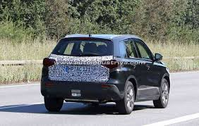 2018 suzuki vitara facelift. wonderful suzuki spied 2018 suzuki vitara facelift spotted once again in suzuki vitara