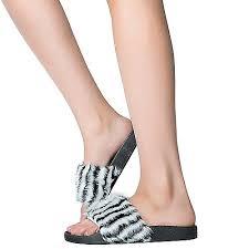 Yoki Size Chart Yoki Womens Riri 23 Fur Sandals