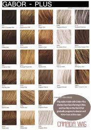 Wig Color Charts