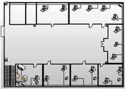 Коммуникации и связь Проектирование локальной вычислительной сети  На рисунках 1 2 3 изображены физические схемы сети на которых отображено размещение оборудования кабельной системы