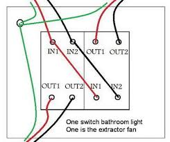 wiring bathroom fan to switch free diagram Bathroom Light Fan Wiring Diagram Bathroom Fan Light Switch Wiring Diagram