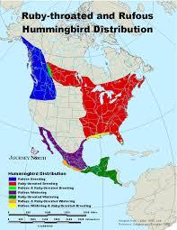 2017 Hummingbird Migration Chart Migration