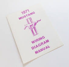 1971 mustang wiring diagram manual