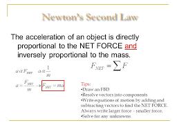11 newton s second law