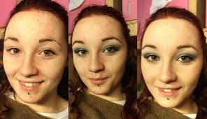 here we have carlotta who was so kind as to make some before and after pictures carlotta is so beautiful with or without makeup so it is hard to tell but