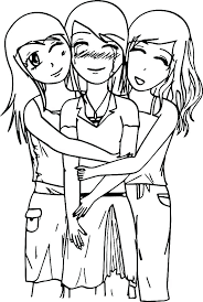 Coloring Pages Best Friend Coloring Pages To Print Printable Cute