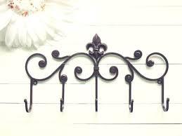Fleur De Lis Coat Rack Fleur De Lis Coat Rack Cor Metal Wall Hanger Wall Hook Teal Home Cor 20