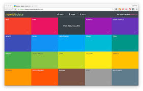 Colour Swatches For Designers 21 Color Palette Tools For Web Designers And Developers