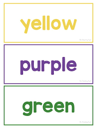 These free, printable alphabet flashcards look great. Color Words Flashcards Free Printable The Teaching Aunt Color Words Printable Color Flashcards Flashcards