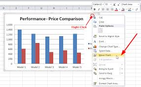 how to save microsoft excel chart or