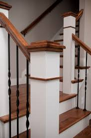 Custom Newel Post Customize Your Interior Drywall Trim And Paint Options Metzler