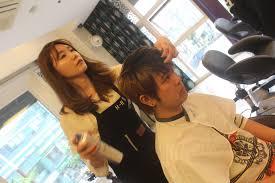 美容師が韓国ソウルの美容室に行ってオマカセでコリアンヘアカットをして