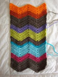 Chevron Scarf Crochet Pattern