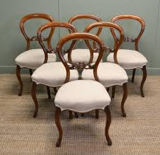 A Set Of Excellent Quality Early Victorian Mahogany Balloon Back Chairs