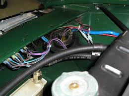 headlight relay location mgb gt forum mg experience forums early 1974 mgb od su hif s 72 spoke chrome ww s schlemmer pertronix dubois fuel pump limey s relays gerry s column kit