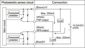 autonics ben10m tdt photoelectric sensor through beam light and autonics ben series control output diagram 01