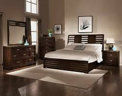 Captivating Espresso Bedroom Furniture Set Added Wooden Master Bed Frames  Also Vanities Mirror Feat Corner Dresser Also Grey Wall As Best Colors For  ...
