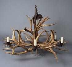 top 68 skoo faux antler chandelier mule deer visual comfort rope lamp horn lights shades wire