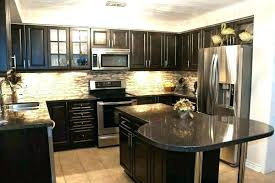 light brown cabinets with grey walls brown cabinets grey walls light dark brown kitchen cabinets with