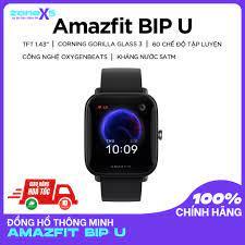 CHÍNH HÃNG]Đồng hồ thông minh Xiaomi Amazfit Bip U - 60 chế độ luyện tập,  chống nước 30m, đo oxy trong máu tại TP. Hồ Chí Minh