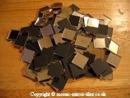100 x 12 5 x12 5x1 5m thick machine cut mosaic mirror tiles