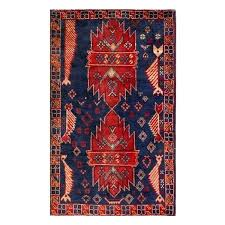small navy rug oriental semi antique afghan hand knotted tribal navy red wool rug small navy