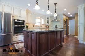 Signature Kitchen Cabinets Signature Pearl With Brownstone Kitchen