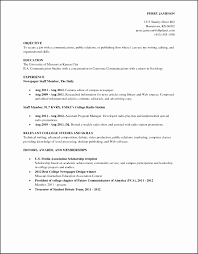 15 Resume For College Students With No Work Experience Besttemplates