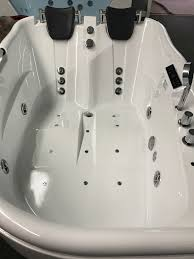 2 person jetted bathtub w air jets heater c022 image 1