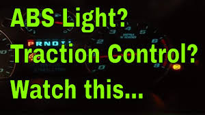 Silverado Abs Light How To Fix Abs Light Traction Control Light Service Stabiltrack Light