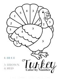 Turkey Coloring Pages Printable Free Free Turkey Coloring Page