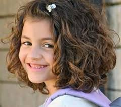 cute hairstyle for toddlers with short curly hair