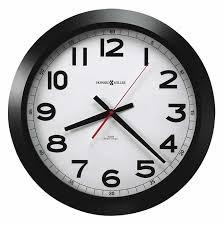 office wall clock. 625509 howard miller auto daylight round wall clock office