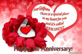 Anniversary Quotes For Girlfriend Extraordinary Anniversary Wishes For Girlfriend Quotes And Messages WishesMsg