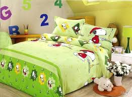 snoopy bed set green snoopy bedding sets snoopy baby bed set