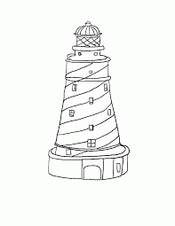 Small Picture Free Printable Lighthouse Coloring Pages For Kids Coloring Home