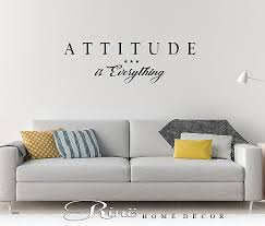 cheap office wall art. Cheap Office Wall Art Fresh Attitude Is Everything Decal Quote Vinyl Lettering High Definition