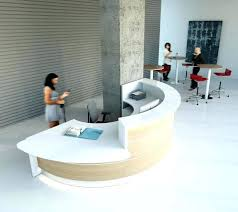 Contemporary Modern Office Furniture Classy Contemporary Reception Desk Veganjourneyco