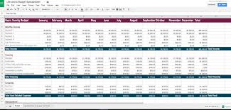 budget sheet template free budget spreadsheet template life and a budget