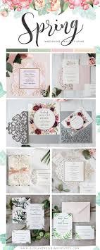 239 Best Wedding Invitations Images On Pinterest Unique Spring Photo Wedding Invitations Ewi