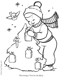 tree coloring pages yard tree bird tree