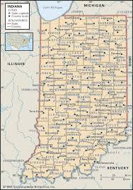 state and county maps of indiana