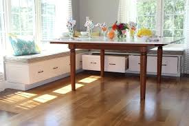 kitchen table with built in bench. Built In Kitchen Benches Awesome Breakfast Bench Traditional Regarding 5 Table With